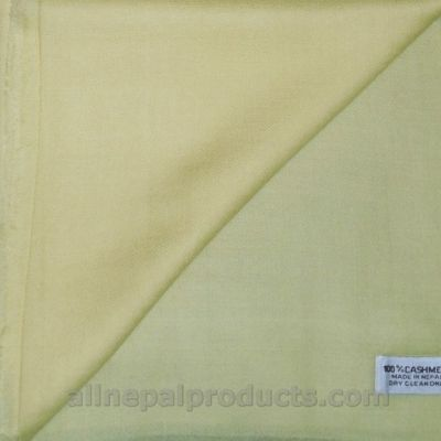 light green cashmere scarf